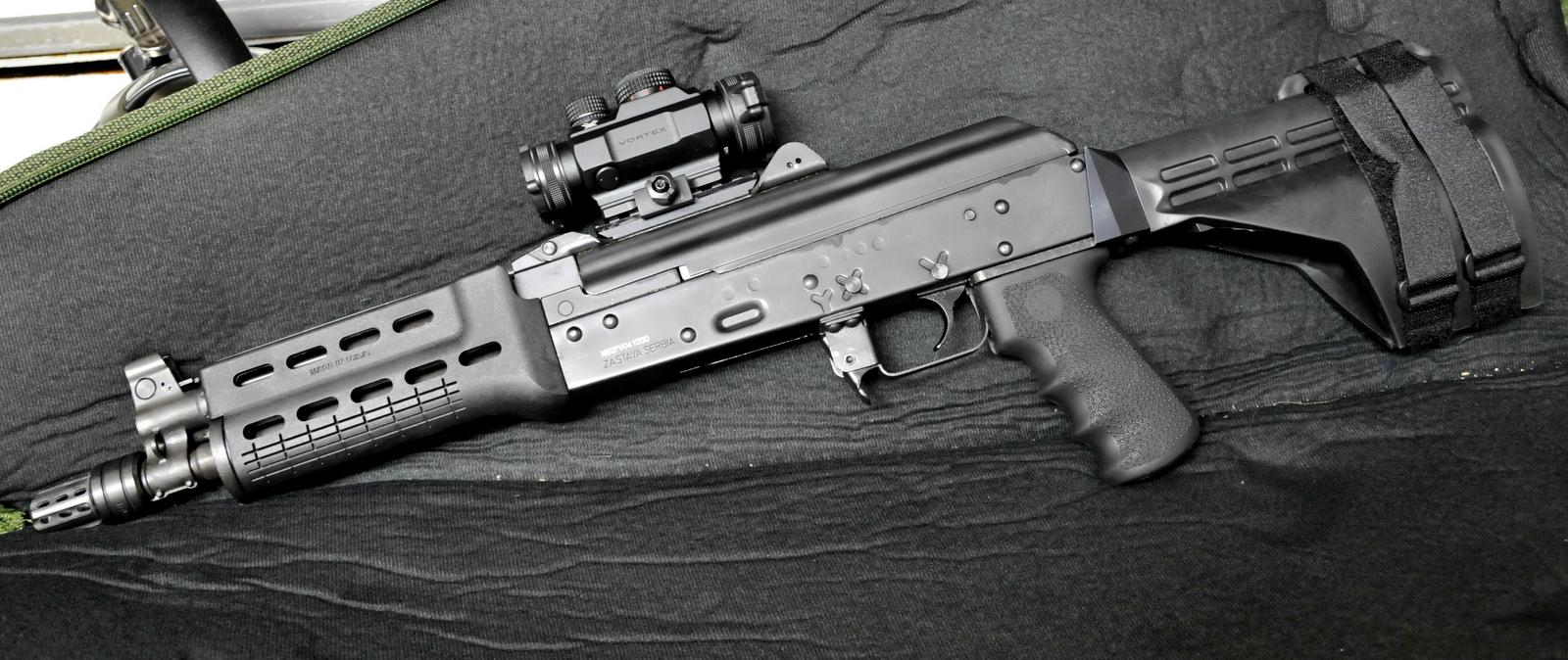 AR15 vs PAP M92 pistol SHTF - Survivalist Forum
